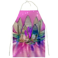 Crystal Flower Full Print Aprons