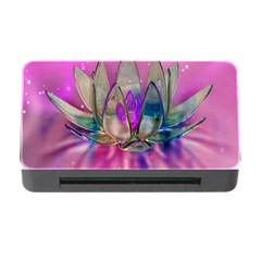 Crystal Flower Memory Card Reader With Cf