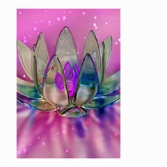Crystal Flower Small Garden Flag (two Sides)