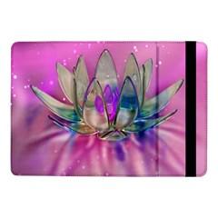 Crystal Flower Samsung Galaxy Tab Pro 10 1  Flip Case