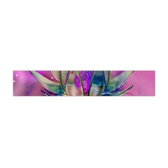 Crystal Flower Flano Scarf (Mini)