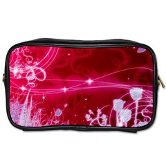 Crystal Flowers Toiletries Bags 2 Side