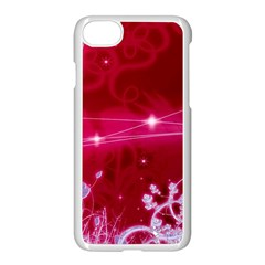 Crystal Flowers Apple Iphone 7 Seamless Case (white)