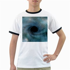 Cosmic Black Hole Ringer T Shirts