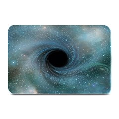 Cosmic Black Hole Plate Mats