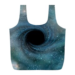 Cosmic Black Hole Full Print Recycle Bags (l)