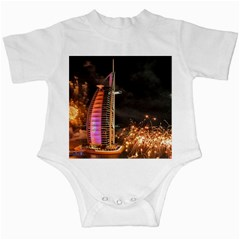 Dubai Burj Al Arab Hotels New Years Eve Celebration Fireworks Infant Creepers