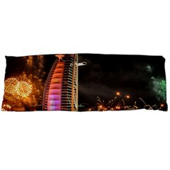 Dubai Burj Al Arab Hotels New Years Eve Celebration Fireworks Body Pillow Case Dakimakura (two Sides)