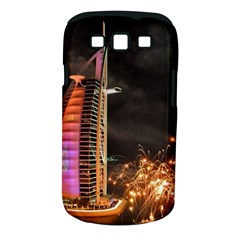 Dubai Burj Al Arab Hotels New Years Eve Celebration Fireworks Samsung Galaxy S Iii Classic Hardshell Case (pc+silicone)
