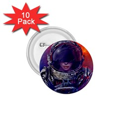 Eve Of Destruction Cgi 3d Sci Fi Space 1 75  Buttons (10 Pack)