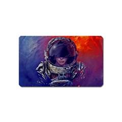 Eve Of Destruction Cgi 3d Sci Fi Space Magnet (name Card)
