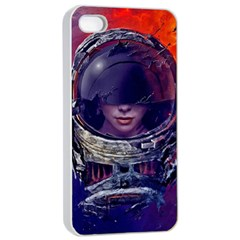 Eve Of Destruction Cgi 3d Sci Fi Space Apple Iphone 4/4s Seamless Case (white)