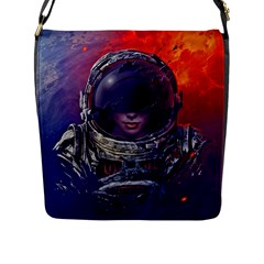 Eve Of Destruction Cgi 3d Sci Fi Space Flap Messenger Bag (l)