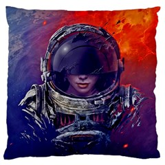Eve Of Destruction Cgi 3d Sci Fi Space Large Flano Cushion Case (two Sides)