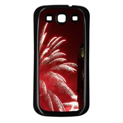 Fireworks Explode Behind The Houses Of Parliament And Big Ben On The River Thames During New Year's Samsung Galaxy S3 Back Case (black)