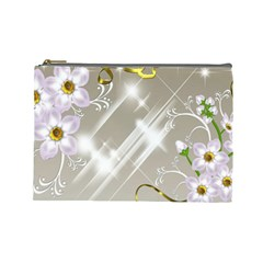 Floral Delight Cosmetic Bag (large)