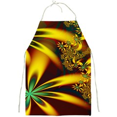 Floral Design Computer Digital Art Design Illustration Full Print Aprons