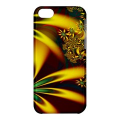 Floral Design Computer Digital Art Design Illustration Apple Iphone 5c Hardshell Case