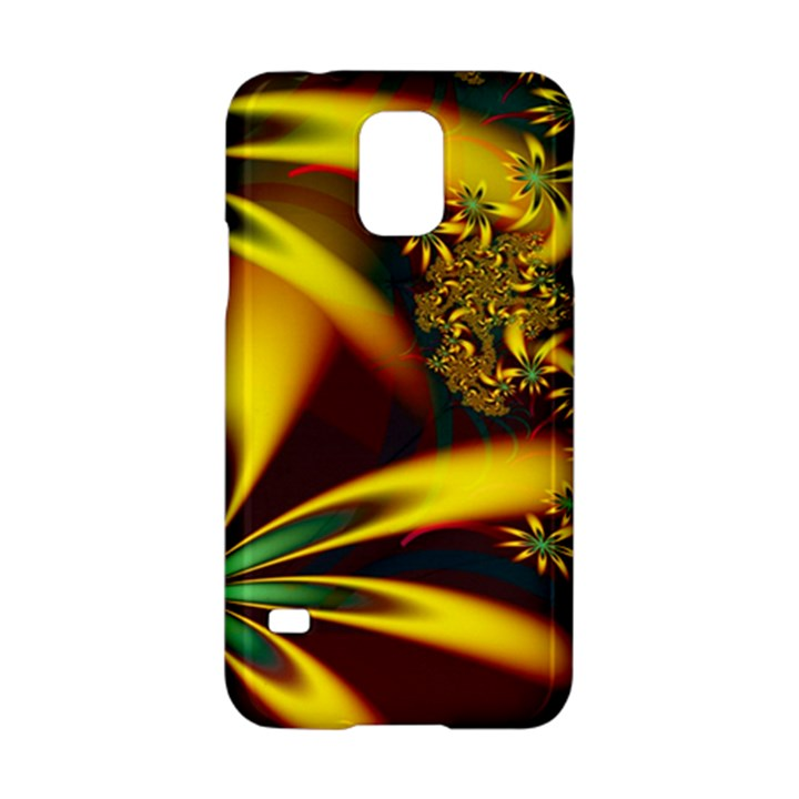 Floral Design Computer Digital Art Design Illustration Samsung Galaxy S5 Hardshell Case