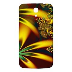 Floral Design Computer Digital Art Design Illustration Samsung Galaxy Mega I9200 Hardshell Back Case