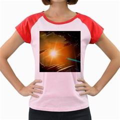 Future City Women s Cap Sleeve T Shirt