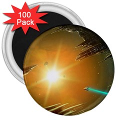 Future City 3  Magnets (100 Pack)