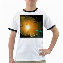 Future City Ringer T Shirts