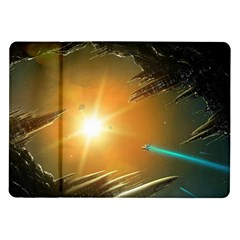 Future City Samsung Galaxy Tab 10 1  P7500 Flip Case