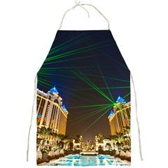 Galaxy Hotel Macau Cotai Laser Beams At Night Full Print Aprons