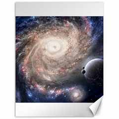 Galaxy Star Planet Canvas 18  X 24
