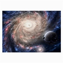 Galaxy Star Planet Large Glasses Cloth (2 Side)