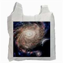 Galaxy Star Planet Recycle Bag (one Side)