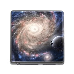 Galaxy Star Planet Memory Card Reader (square)