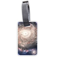 Galaxy Star Planet Luggage Tags (one Side)