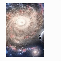 Galaxy Star Planet Large Garden Flag (two Sides)