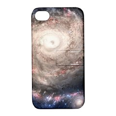 Galaxy Star Planet Apple Iphone 4/4s Hardshell Case With Stand