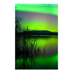 Green Northern Lights Canada Shower Curtain 48  X 72  (small)