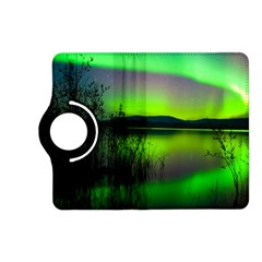Green Northern Lights Canada Kindle Fire Hd (2013) Flip 360 Case