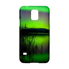 Green Northern Lights Canada Samsung Galaxy S5 Hardshell Case