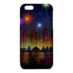 Happy Birthday Independence Day Celebration In New York City Night Fireworks Us iPhone 6/6S TPU Case
