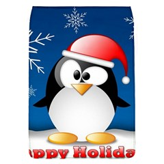 Happy Holidays Christmas Card With Penguin Flap Covers (l)