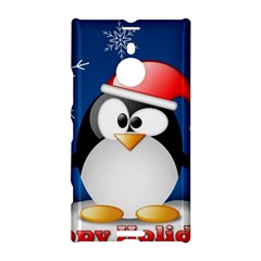 Happy Holidays Christmas Card With Penguin Nokia Lumia 1520
