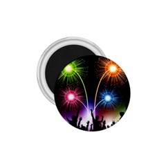 Happy New Year 2017 Celebration Animated 3d 1 75  Magnets