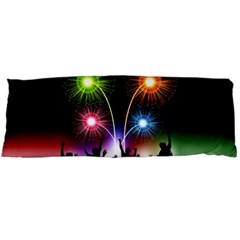 Happy New Year 2017 Celebration Animated 3d Body Pillow Case Dakimakura (two Sides)