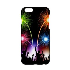 Happy New Year 2017 Celebration Animated 3d Apple Iphone 6/6s Hardshell Case