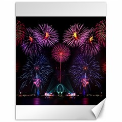 Happy New Year New Years Eve Fireworks In Australia Canvas 12  X 16