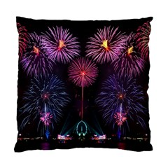 Happy New Year New Years Eve Fireworks In Australia Standard Cushion Case (one Side)