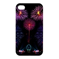 Happy New Year New Years Eve Fireworks In Australia Apple Iphone 4/4s Hardshell Case
