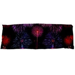 Happy New Year New Years Eve Fireworks In Australia Body Pillow Case Dakimakura (two Sides)