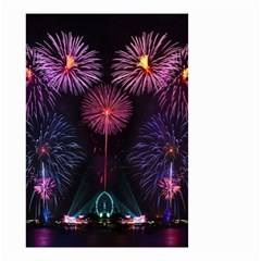 Happy New Year New Years Eve Fireworks In Australia Small Garden Flag (two Sides)